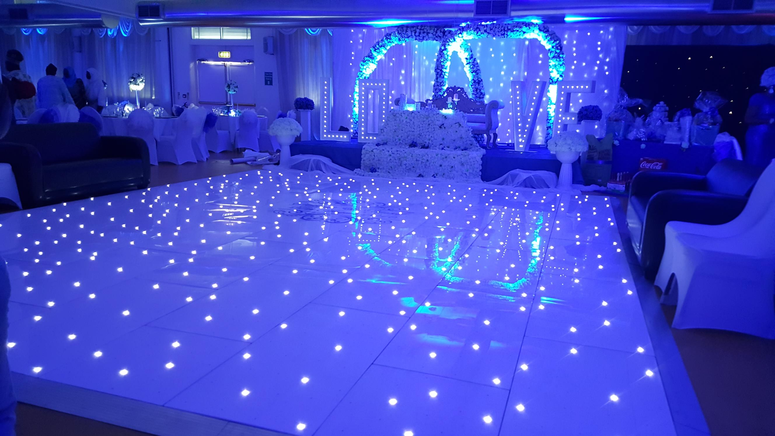 MMG Events Dance Floor Example